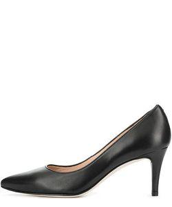 Unisa   Черные Классические Туфли Из Натуральной Кожи