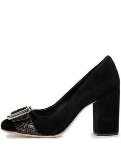 Clarks | Замшевые Туфли На Устойчивом Каблуке
