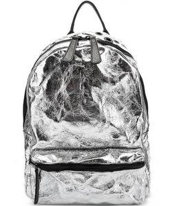 Io Pelle   Вместительный Кожаный Рюкзак С Металлическим Декором