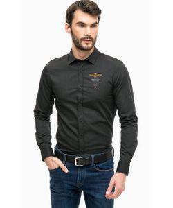 Aeronautica Militare | Черная Приталенная Рубашка