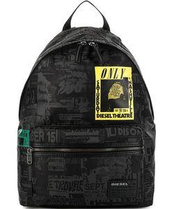Diesel | Текстильный Рюкзак С Одним Отделением