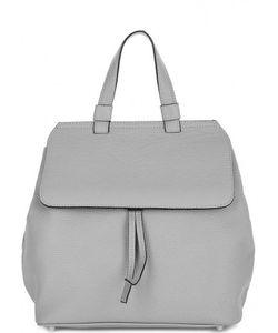 Abro | Сумка-Рюкзак Из Мягкой Кожи Серого Цвета