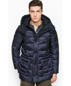 Woolrich | Зимний Пуховик Со Съемным Капюшоном