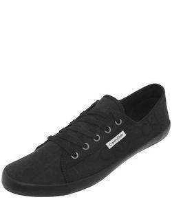 Calvin Klein Jeans   Черные Текстильные Кеды