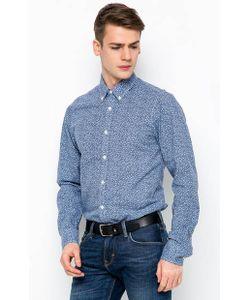 Tommy Hilfiger | Синяя Рубашка С Длинными Рукавами