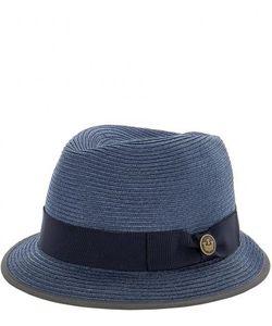 Goorin Bros. | Плетеная Синяя Шляпа С Широкой Лентой