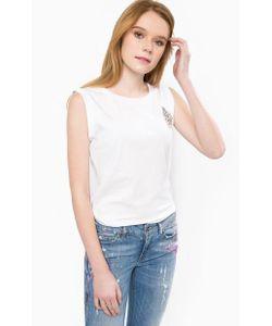 Liu •Jo Jeans | Хлопковый Топ С Отделкой Стразами