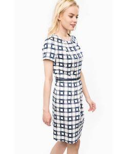 Barbour | Приталенное Платье Из Хлопка С Ремнем