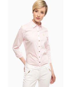 U.S. Polo Assn. | Приталенная Рубашка Розового Цвета