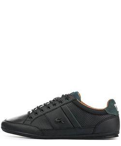 Lacoste | Черные Кожаные Кроссовки