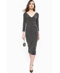 Guess | Трикотажное Платье С Глубоким Вырезом