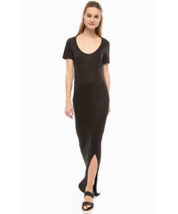 Silvian Heach | Длинное Черное Платье С Вырезом На Спине