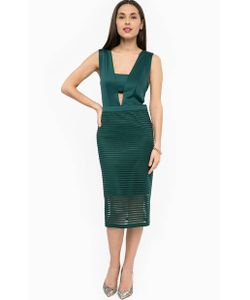 Silvian Heach | Зеленое Платье На Молнии