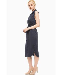ICHI | Платье Средней Длины С Запахом
