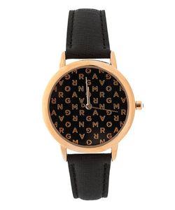 Morgan | Часы Без Индикации С Черным Кожаным Ремешком