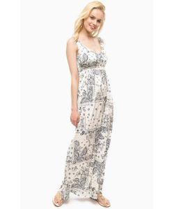 Liu •Jo Jeans   Длинное Платье С Резинкой На Талии