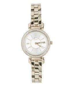 DKNY   Кварцевые Часы С Отделкой Кристаллами