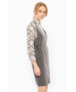 ICHI | Короткое Платье С Молнией На Спине