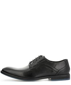 Clarks | Черные Кожаные Туфли
