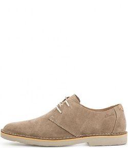 Clarks | Замшевые Туфли