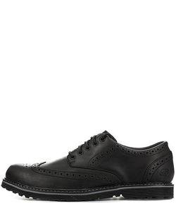 Skechers | Кожаные Ботинки С Брогированием