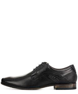 s.Oliver | Черные Кожаные Туфли