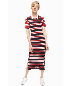 Tommy Hilfiger | Платье В Полоску С Разрезами По Бокам