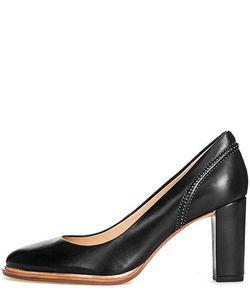 Clarks | Кожаные Туфли С Круглым Носом