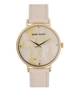 Anne Klein | Часы Со Светлым Кожаным Ремешком