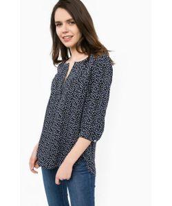 MORE&MORE | Синяя Блуза Из Вискозы