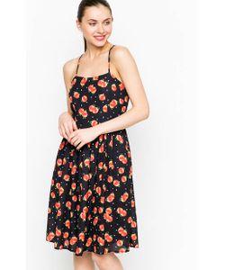 Sugarhill Boutique | Черное Платье На Тонких Бретелях