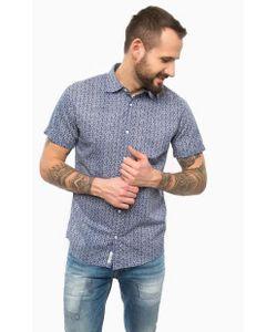 Pepe Jeans | Синяя Рубашка С Коротким Рукавом