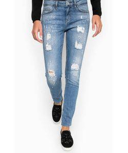 Liu •Jo Jeans | Рваные Джинсы С Принтом