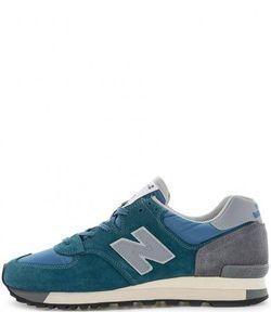 New Balance | Замшевые Кроссовки С Текстильными Вставками