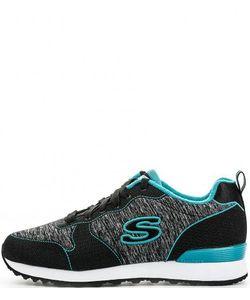 Skechers | Текстильные Кроссовки На Шнурках