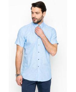 Lagerfeld | Рубашка Голубого Цвета Из Хлопка И Льна