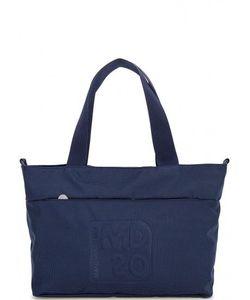 MANDARINA DUCK | Синяя Текстильная Сумка На Молнии