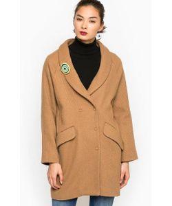 Think Chic | Пальто На Кнопках Из Шерсти И Полиэстера