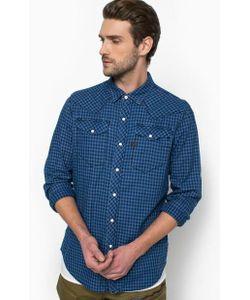 G-Star | Рубашка Из Хлопка В Клетку С Нагрудными Карманами