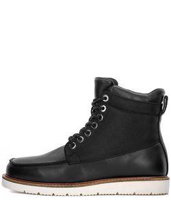 ARMANI JEANS | Кожаные Ботинки С Текстильными Вставками
