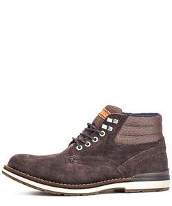 Tommy Hilfiger | Замшевые Ботинки С Текстильным Голенищем