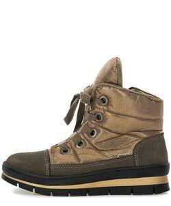 Jog Dog   Ботинки Из Замши И Текстиля На Молнии И Шнуровке