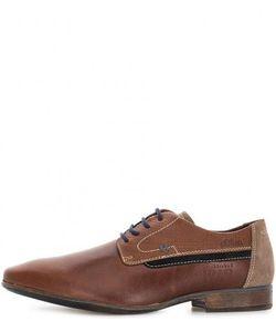 s.Oliver | Кожаные Туфли Коричневого Цвета