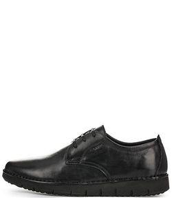 Geox | Черные Ботинки Из Натуральной Кожи