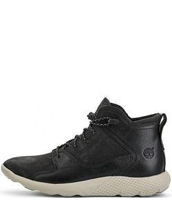 Timberland | Кожаные Ботинки Со Вставками Из Нубука