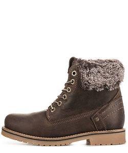 Wrangler | Кожаные Ботинки Коричневого Цвета