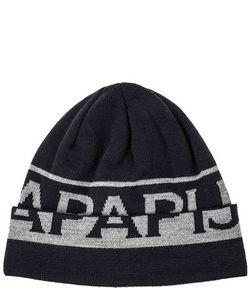 Napapijri | Синяя Трикотажная Шапка