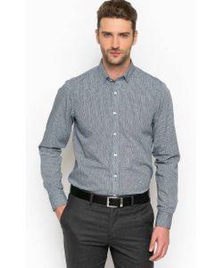 Tommy Hilfiger | Синяя Хлопковая Рубашка На Пуговицах
