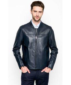 Michael Michael Kors | Синяя Кожаная Куртка На Молнии