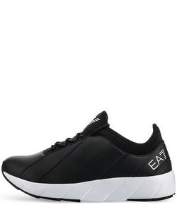 EA7 | Черные Кроссовки С Логотипом Бренда